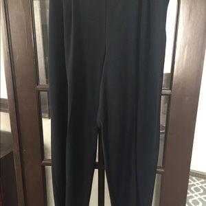 Blue Straight Leg Pants